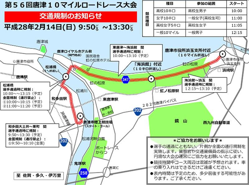唐津10マイルmap