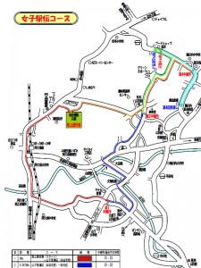 阿久根九州選抜女子map