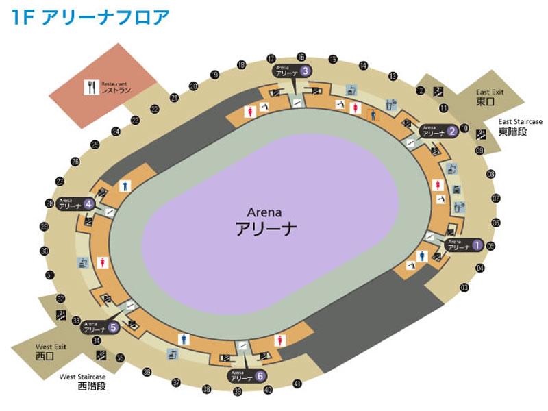 大阪城ホールアリーナ